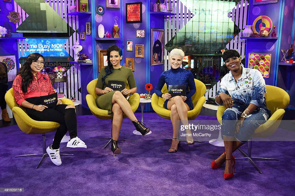 "MTV's ""Girl Code Live"" - October 5, 2015 : Foto jornalística"