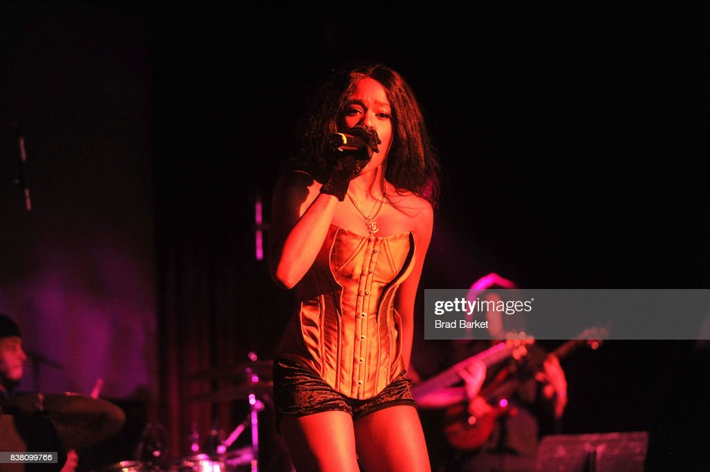 Rapper Azealia Banks performs at Highline Ballroom on August 23, 2017 in New York City.