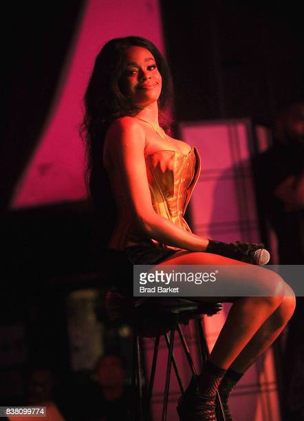 Rapper Azealia Banks performs at Highline Ballroom on August 23 2017 in New York City