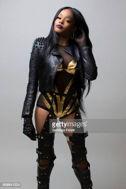 Rapper Azealia Banks poses for a portrait on March 13 2016 in Brooklyn New York