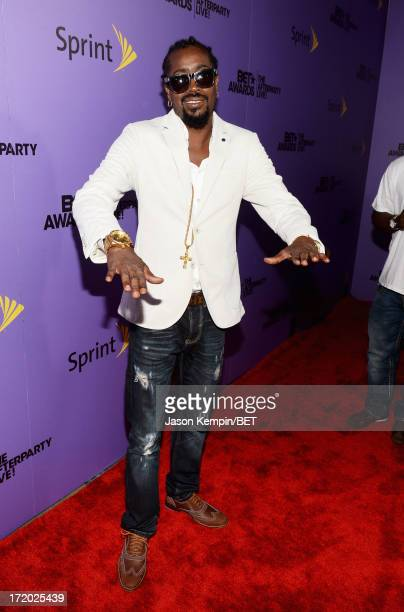 Rapper Beenie Man attends the post show during the 2013 BET Awards at JW Marriot at LA Live on June 30 2013 in Los Angeles California