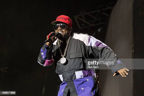 Rapper Big Boi of Outkast performs on stage during weekend one day one of Austin City Limits Music Festival at Zilker Park on October 3 2014 in...