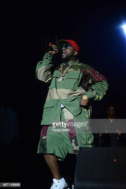 Rapper Big Boi of Outkast performs onstage during the 2014 Counterpoint Festival at Kingston Downs on April 27, 2014 in Rome, Georgia.