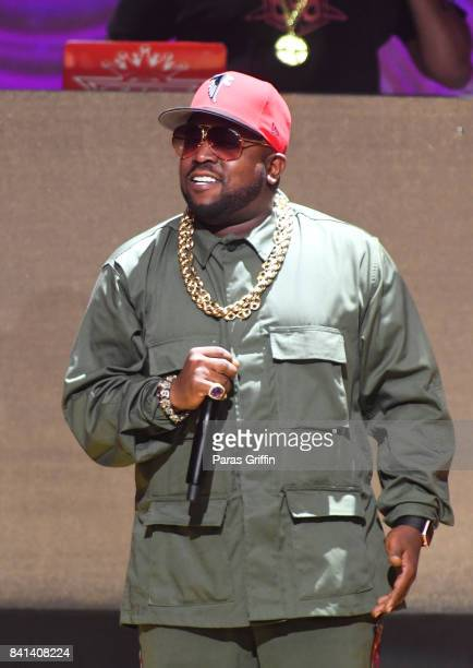 Rapper Big Boi performs at the 2017 BMI RB/HipHop Awards at Woodruff Arts Center on August 31 2017 in Atlanta Georgia