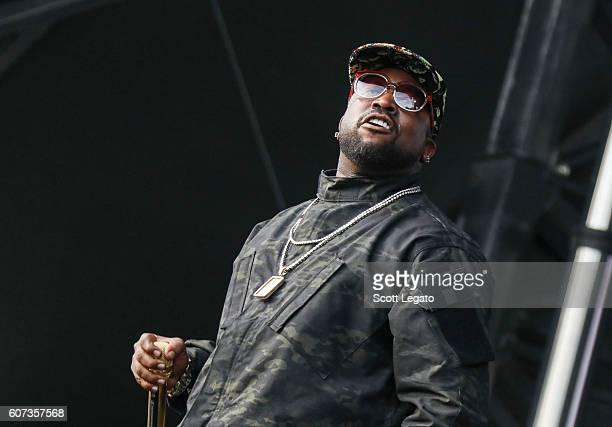 Rapper Big Boi performs during Music Midtown 2016 at Piedmont Park on September 17 2016 in Atlanta Georgia