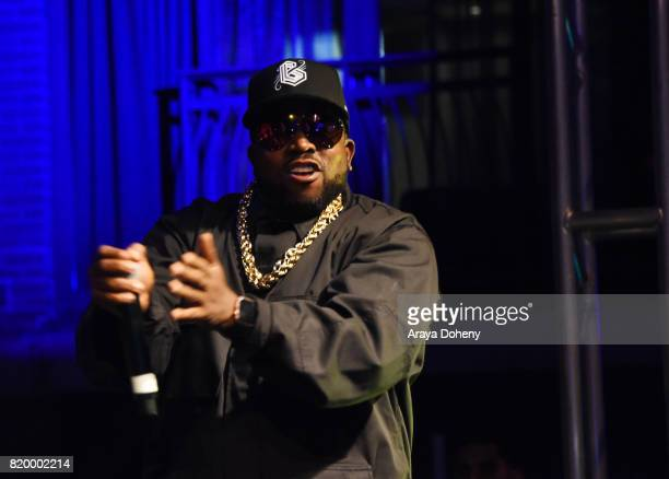 Rapper Big Boi performs onstage at the FANDOM Party during ComicCon International 2017 at Hard Rock Hotel San Diego on July 20 2017 in San Diego...