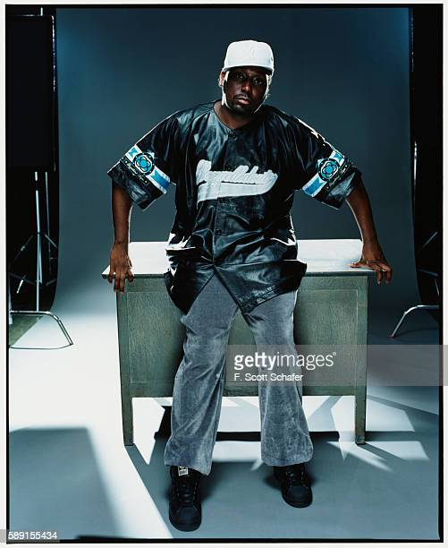Rapper Big Daddy Kane is photographed for The Source Magazine in 2002