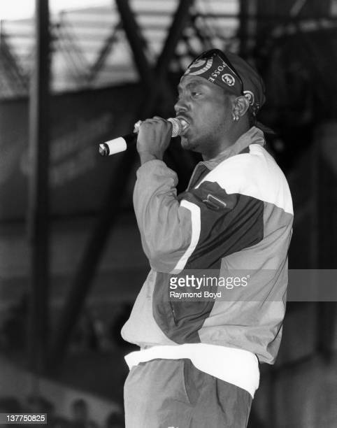 Rapper Big Daddy Kane performs at the Marcus Amphitheatre in Milwaukee Wisconsin in 1993