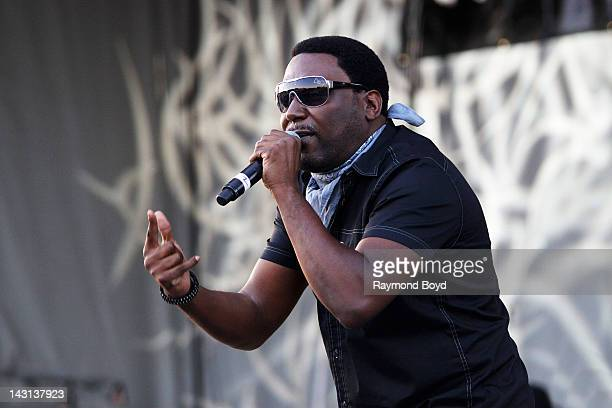 Rapper Big Daddy Kane performs during the Woodstars Charity Concert in Maywood Illinois on JULY 29 2011