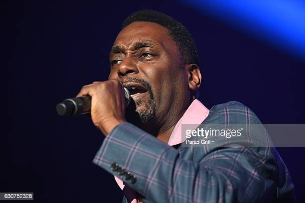Rapper Big Daddy Kane performs onstage at 2016 Old School Hip Hop New Year's Eve Festival at Philips Arena on December 31, 2016 in Atlanta, Georgia.