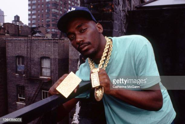 Rapper Big Daddy Kane poses for a portrait on August 12, 1988 in New York City, New York.