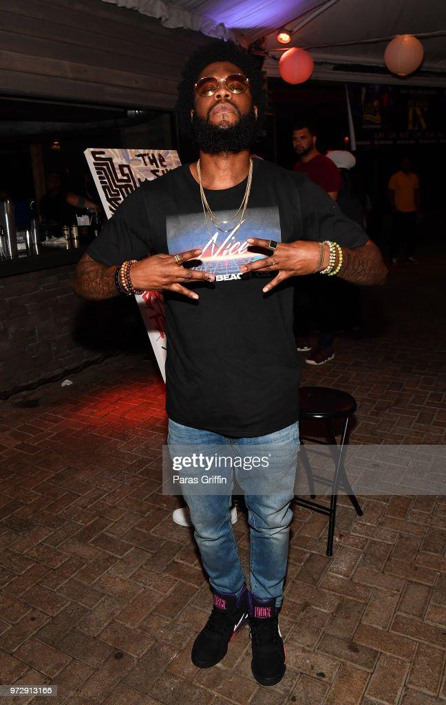 Rapper Big K.R.I.T. attends ATL Live On The Park at Park Tavern on June 12, 2018 in Atlanta, Georgia.