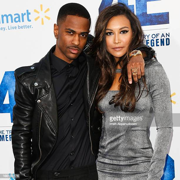 Rapper Big Sean and actress Naya Rivera attend the premiere of Warner Bros. Pictures' And Legendary Pictures' '42' at TCL Chinese Theatre on April 9,...