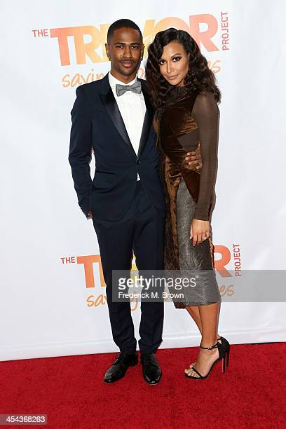 Rapper Big Sean and actress Naya Rivera attend 'TrevorLIVE LA' honoring Jane Lynch and Toyota for the Trevor Project at Hollywood Palladium on...