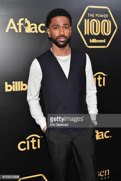 Rapper Big Sean attends the 2018 Billboard Power 100 celebration at Nobu 57 on January 25 2018 in New York City