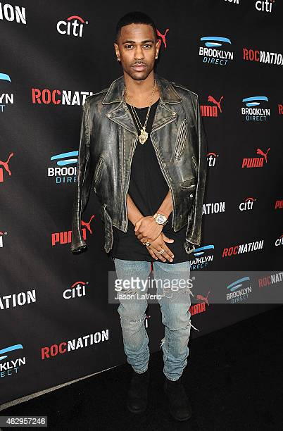 Rapper Big Sean attends the Roc Nation Grammy brunch on February 7 2015 in Beverly Hills California