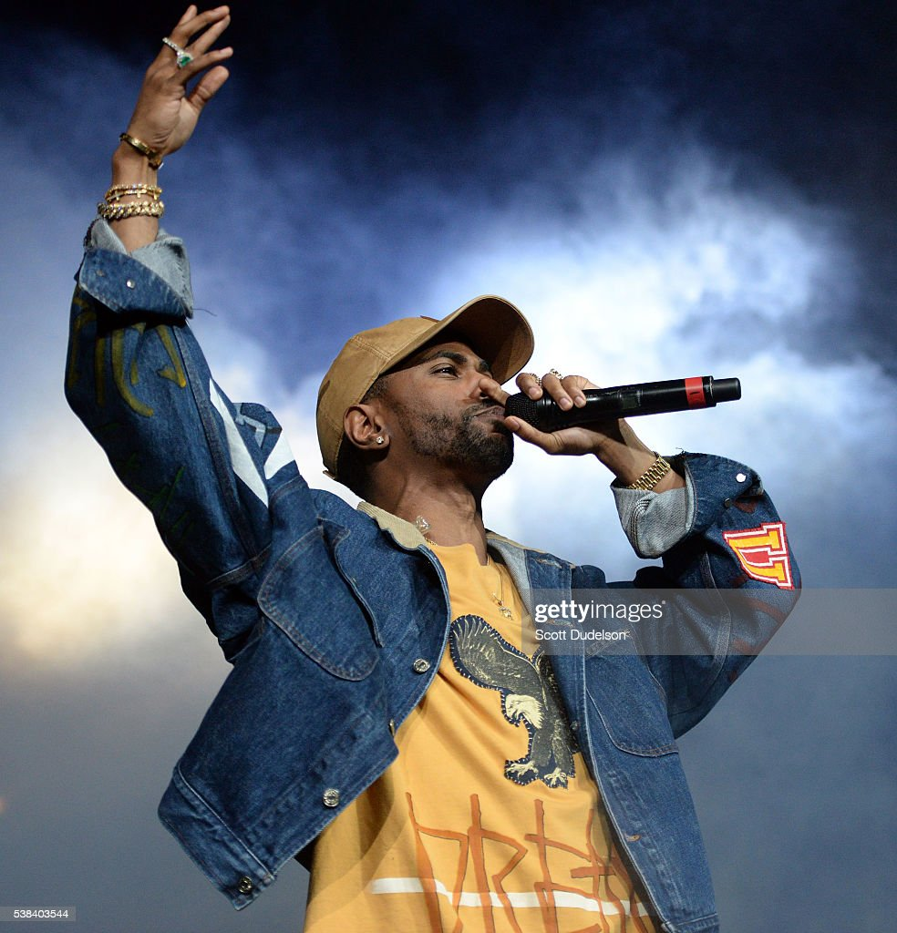 Rapper Big Sean performs onstage at the Power 106 Powerhouse show at Honda Center on June 3, 2016 in Anaheim, California.
