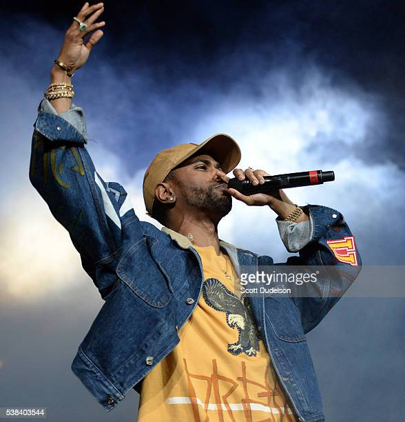 Rapper Big Sean performs onstage at the Power 106 Powerhouse show at Honda Center on June 3 2016 in Anaheim California