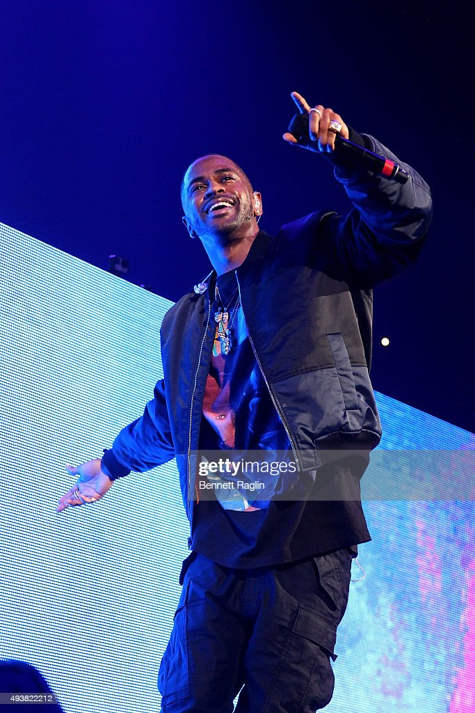 Rapper Big Sean performs onstage during 105.1's Powerhouse 2015 at the Barclays Center on October 22, 2015 in Brooklyn, NY.