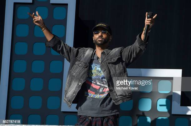 Rapper Big Sean performs onstage during the 2017 Global Citizen Festival in Central Park to End Extreme Poverty by 2030 at Central Park on September...