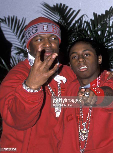 Rapper Birdman and Lil Wayne attend 14th Annual Soul Train Music Awards on March 4 2000 at the Shrine Auditorium in Los Angeles California