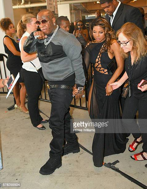 Rapper Birdman and Toni Braxton attend the 2016 BET Awards at Microsoft Theater on June 26 2016 in Los Angeles California