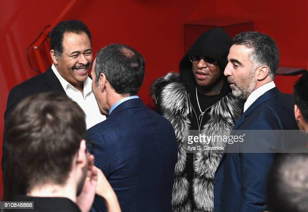 Rapper Birdman attends Republic Records Celebrates the GRAMMY Awards in Partnership with Cadillac Ciroc and Barclays Center at Cadillac House on...