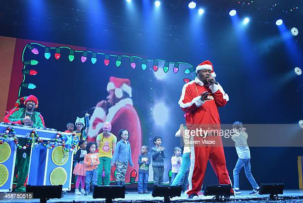 Rapper Biz Markie performs at Yo Gabba Gabba Live at The Beacon Theatre on December 21 2013 in New York City
