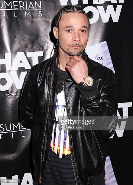 Rapper Bizzy Bone attends What Now Los Angeles Film Premiere at Laemmle Music Hall on March 10 2015 in Beverly Hills California