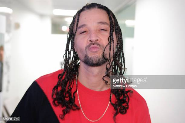 Rapper Bizzy Bone of the group Bone Thugs visits SiriusXM Studios on April 19 2017 in New York City