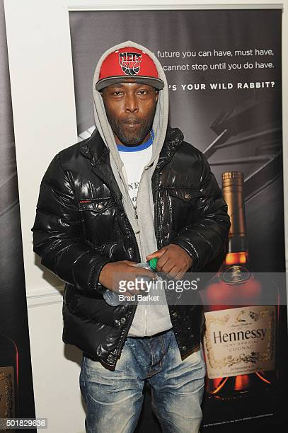 Rapper Black Rob attends the Power105.1 Breakfast Club Anniversary party presented by Verizon on December 17, 2015 in New York City.