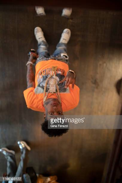 Rapper Blueface is photographed for Los Angeles Times on June 21, 2019 in Los Angeles, California. PUBLISHED IMAGE. CREDIT MUST READ: Gina...