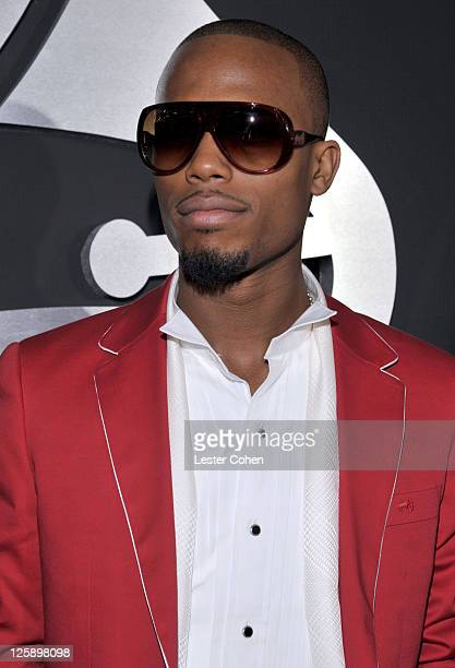 Rapper BoB arrives at The 53rd Annual GRAMMY Awards held at Staples Center on February 13 2011 in Los Angeles California