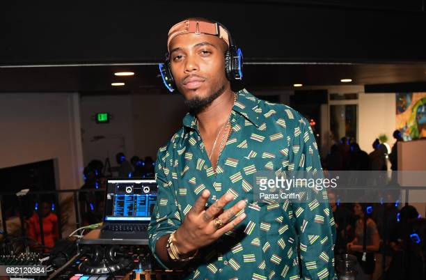 Rapper BoB attends his 'ETHER' album Listening Experience at Studio No 7 on May 11 2017 in Atlanta Georgia