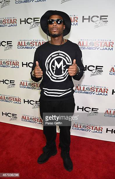 Rapper BoB attends the HCE Live presents Shaquille O'Neal All Star Comedy Jam at Cobb Energy Center on October 10 2014 in Atlanta Georgia