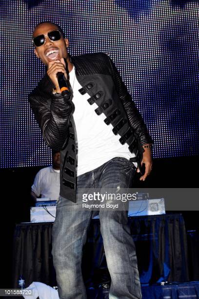 Rapper BoB performs at the Allstate Arena in Rosemont Illinois on MAY 21 2010