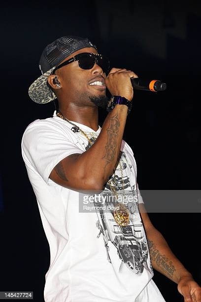 Rapper BoB performs at the Allstate Arena in Rosemont Illinois on MAY 18 2012