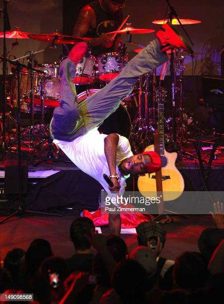 Rapper BoB performs on stage at the Highline Ballroom on July 22 2012 in New York City