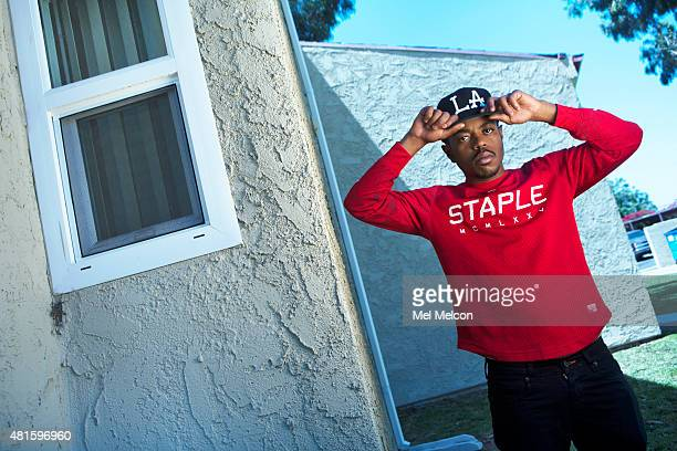 Rapper Boogie Anthony Dixson is photographed for Los Angeles Times on June 19 2015 in Compton California PUBLISHED IMAGE CREDIT MUST READ Mel...