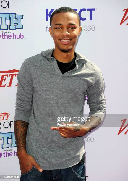 Rapper Bow Wow arrives at Variety's 4th Annual Power of Youth event at Paramount Studios on October 24 2010 in Hollywood California