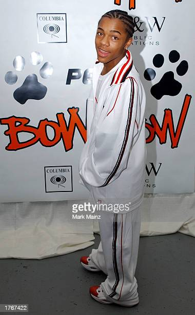 Rapper Bow Wow attends his 16th Birthday Bash on February 6 2003 at the Cascade Skate Center in Atlanta Georgia