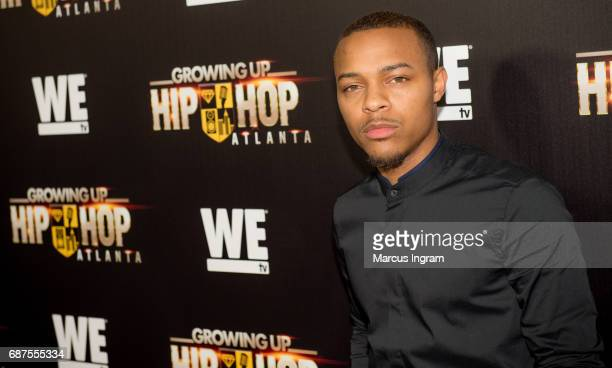 Rapper Bow Wow attends the 'Growing Up Hip Hop Atlanta' premiere at Woodruff Arts Center on May 23 2017 in Atlanta Georgia