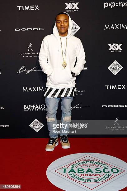 Rapper Bow Wow celebrates bold moments with Tabasco at the MAXIM Party on January 31 2015 in Phoenix Arizona