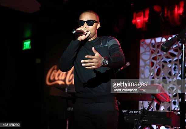 Rapper Bow Wow speaks at the 2015 American Music Awards Pre Party with CocaCola at the Conga Room on November 20 2015 in Los Angeles California