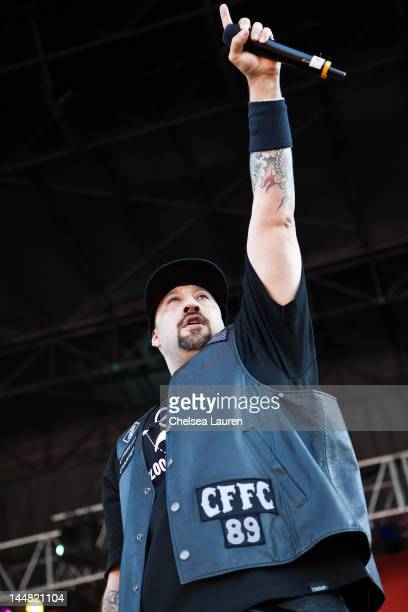 Rapper B-Real of Cypress Hill performs during the 2012 Rock On The Range festival at Crew Stadium on May 19, 2012 in Columbus, Ohio.