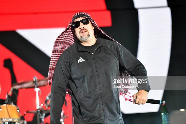 Rapper BReal of Cypress Hill performs onstage with his side project Prophets of Rage during KROQ Almost Acoustic Christmas 2017 at The Forum on...