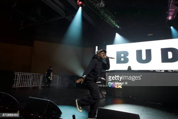 Rapper Buddy performs at ComplexCon 2017 on November 5 2017 in Long Beach California