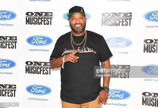 Rapper Bun B attends 2018 ONE Musicfest at Atlanta Central Park on September 8 2018 in Atlanta Georgia
