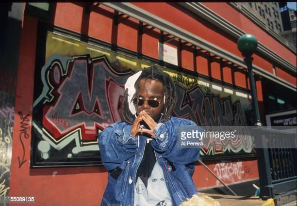 Rapper Bushwick Bill appears in a portrait taken on June 1 1995 at Madison Square Park in New York City
