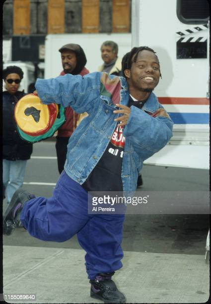 Rapper Bushwick Bill appears on the set of Who's The Man on November 1 1992 in New York City